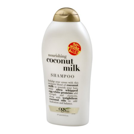 OGX Nourishing Coconut Milk Shampoo, 19.5 FL OZ