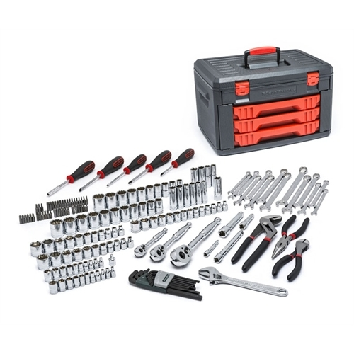 GearWrench 1/4 in. and 3/8 in. Drive Mechanics Tool Set (143-Piece)