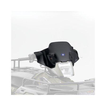 LOCK AND & RIDE LOW SHORT BLACK WINDSHIELD SPORTSMAN 400 500 800 6X6 X2