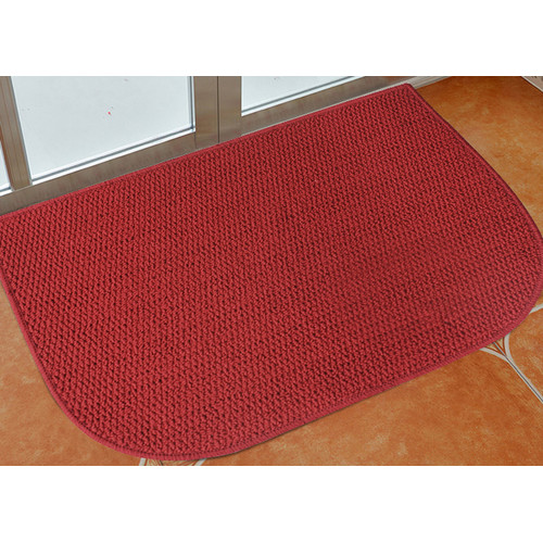 Attraction Design Home Red Area Rug