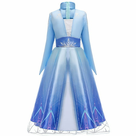 The History Of Halloween Essay (Frozen 2 Elsa Deluxe Princess Dress Costume for Girl Cosplay Halloween Party)