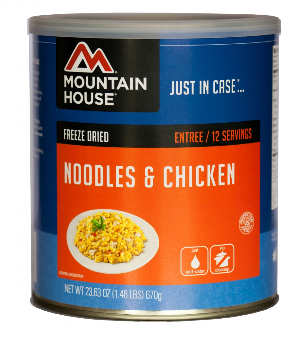Mountain House (6 Pack) Noodles & Chicken Main Entree #10 Can by Mountain House