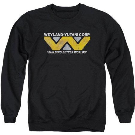 Alien Mens  Weyland Sweatshirt Black