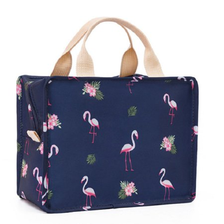 TURNTABLE LAB Flamingo Lunch Bags Insulated Cool Bag Picnic Bags School Lunchbox Creative