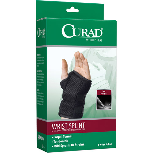 Medline Wrist Splint, Right, 1ct