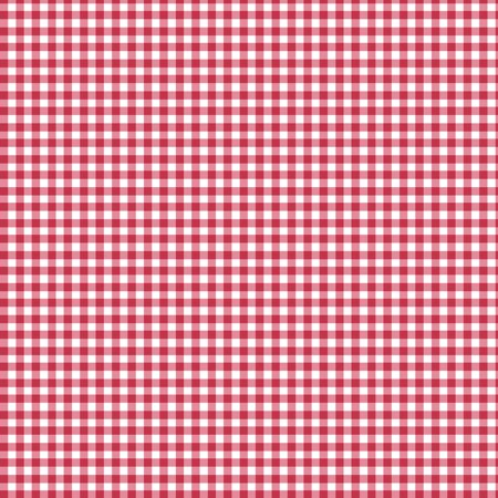 "SHASON TEXTILE (3 Yards cut) 100% COTTON PRINT QUILTING FABRIC, RED / WHITE 1/8"" GINGHAM"