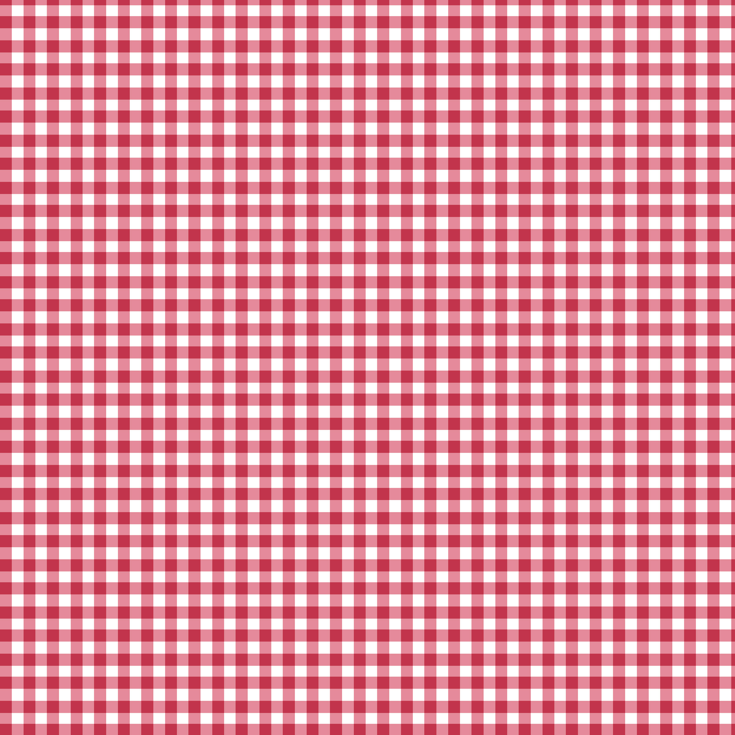 """SHASON TEXTILE (3 Yards cut) 100% COTTON PRINT QUILTING FABRIC, RED / WHITE 1/8"""" GINGHAM"""
