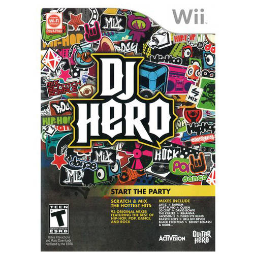 DJ Hero - Game Only (Wii) - Pre-Owned