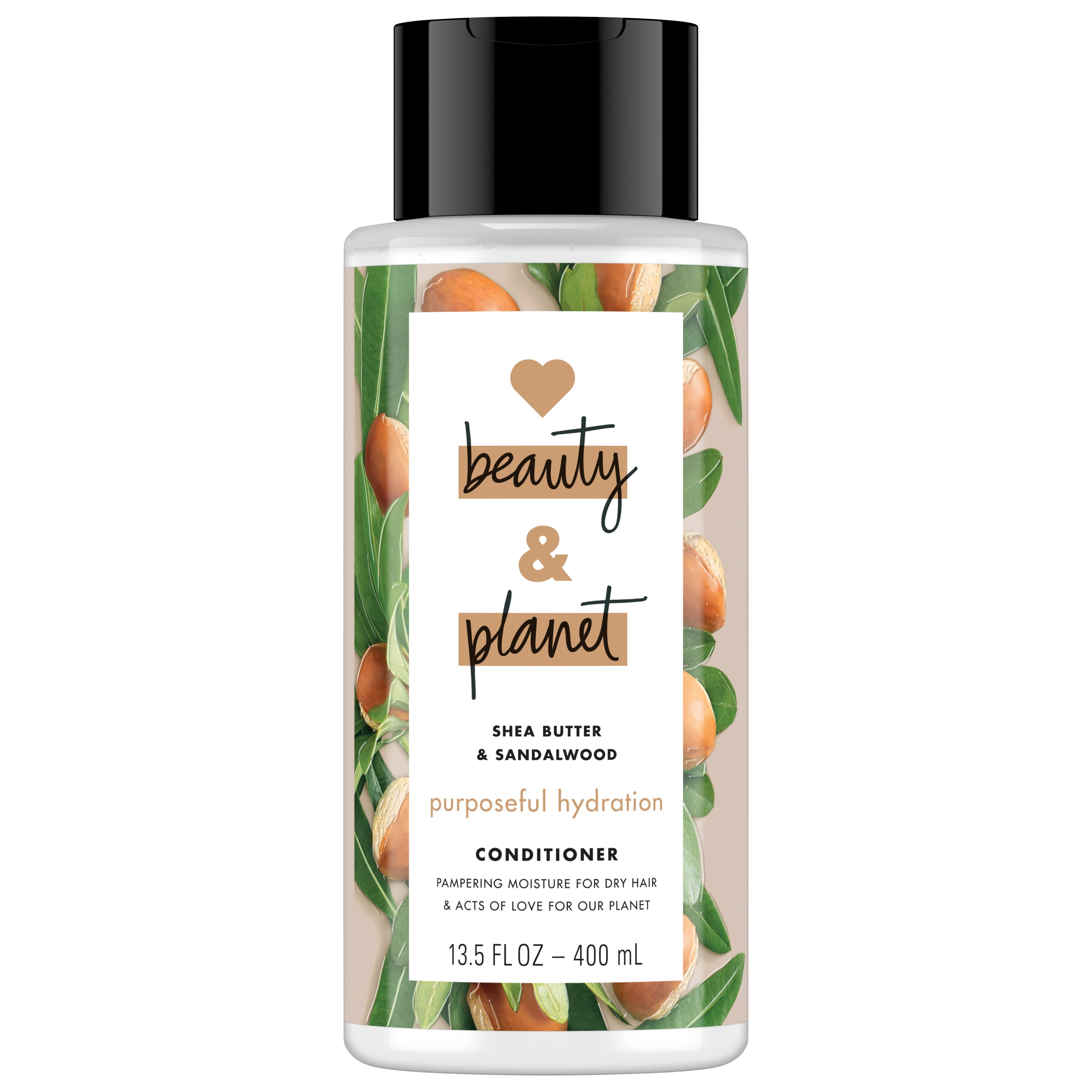 Love Beauty And Planet Purposeful Hydration Cleansing Conditioner, Shea Butter & Sandalwood 13.5 oz