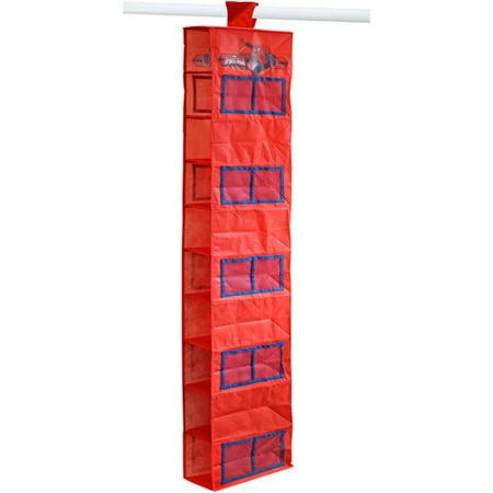 Marvel Spider-Man 10-Shelf Closet Hanging Organizer Canvas Closet Organizers