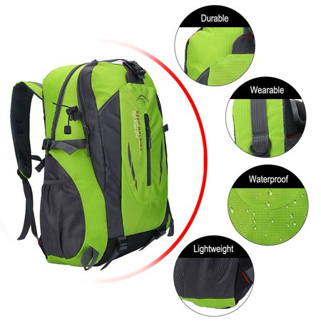Ejoyous - Ejoyous 6 Colors 40L Waterproof Backpack Shoulder Bag For Outdoor  Sports Climbing Camping Hiking,Backpack, Outdoor Sports Backpack -  Walmart.com d8739b454f