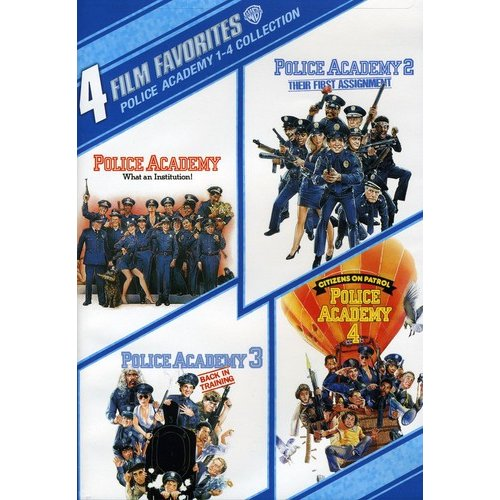 Police Academy 1-4 Collection: 4 Film Favorites (Widescreen, Full Frame)