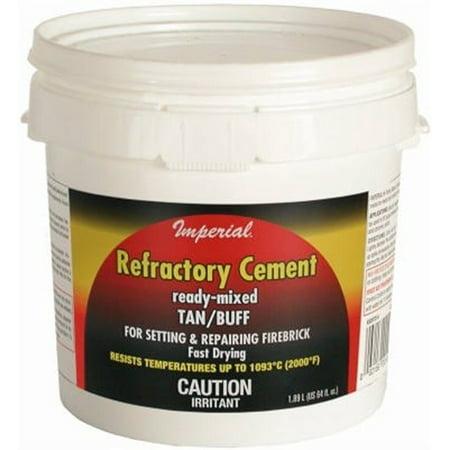 Imperial Mfg Group KK0307 64OZ Refractory Cement