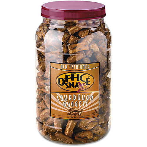 Office Snax Old Fashioned Sourdough Pretzel Nuggets, 48 oz