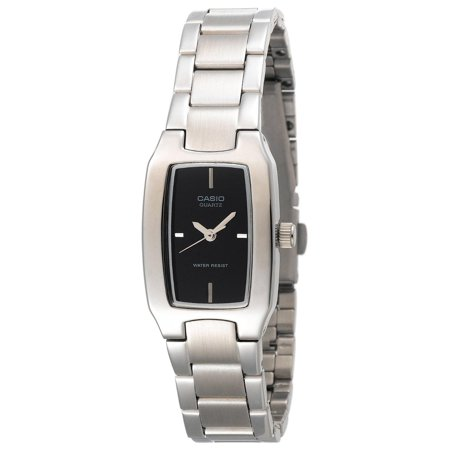 - Casio Women's Pink Dial Watch, Stainless Steel Bracelet