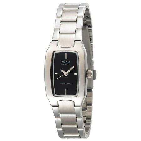 (Casio Women's Pink Dial Watch, Stainless Steel Bracelet)