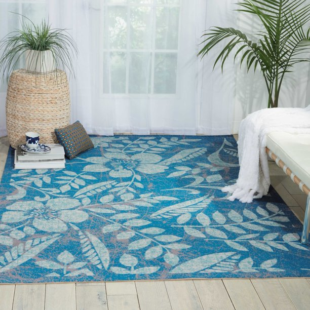 Nourison Coastal Blue Area Rug