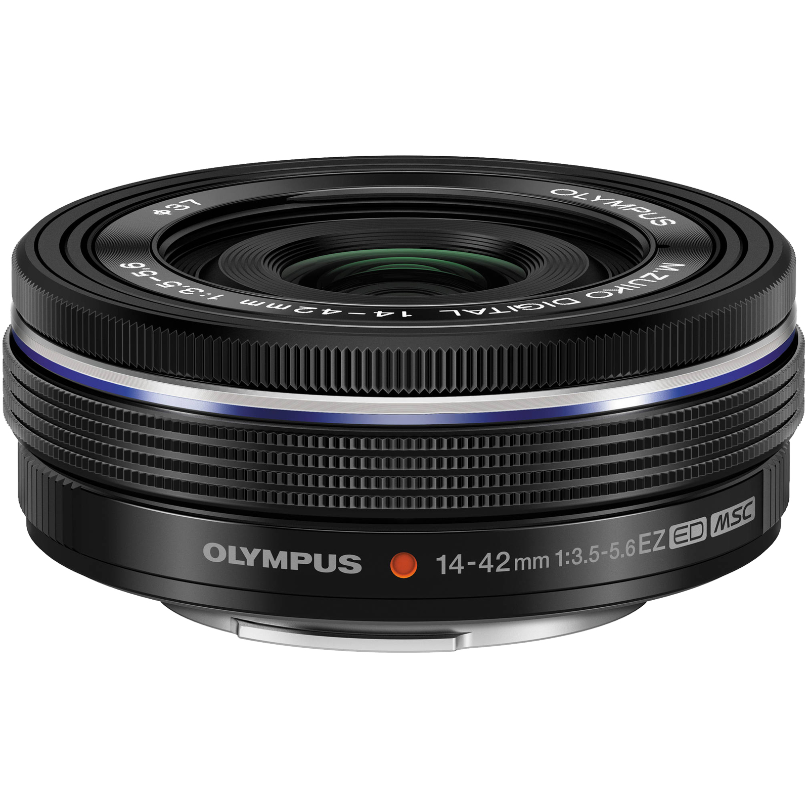 Olympus M.Zuiko 14-42mm f/3.5-5.6 EZ Digital Zoom Lens (Black)