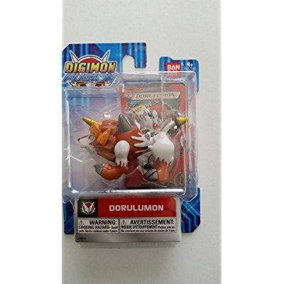 Dorulumon Digimon Fusion Figure with Card by Digimon by