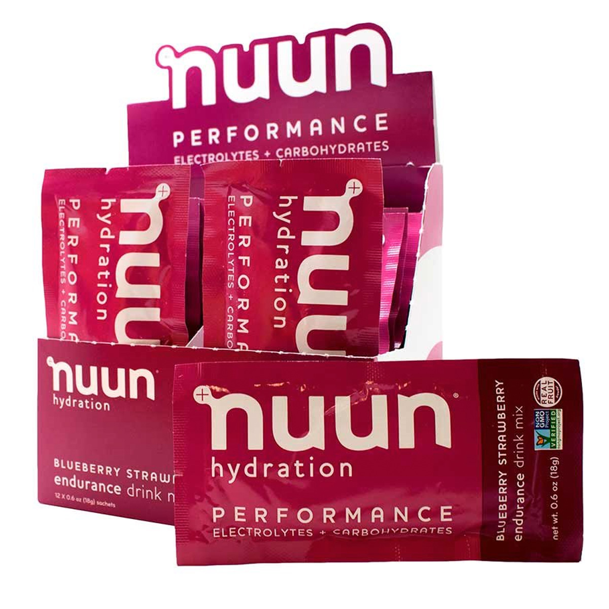 Nuun Performance Hydration: Blueberry Strawberry, Box of 12
