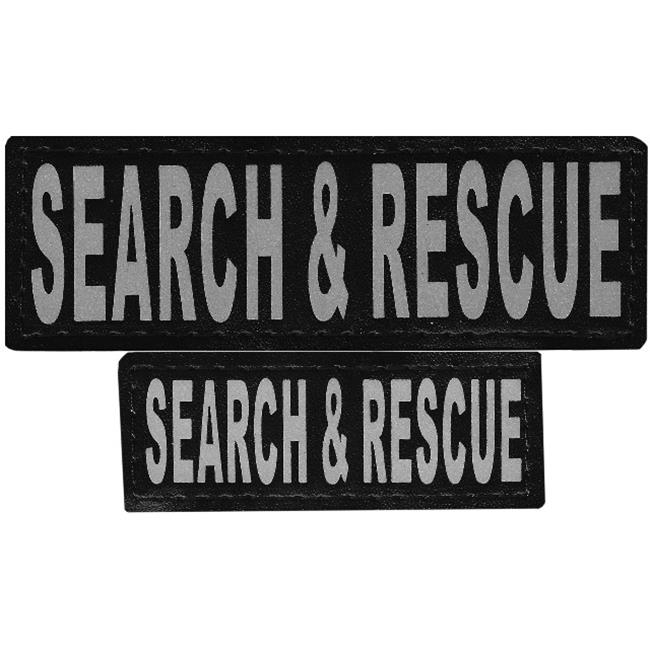 "Removable Velcro Patches ""Search And Rescue"" L/XL"