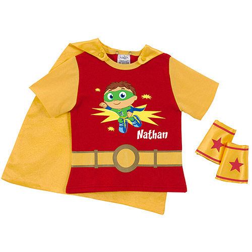 Personalized Super Why! Super Job Super Toddler Boy T-Shirt