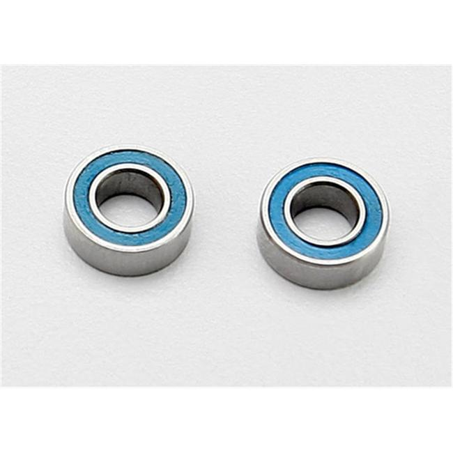 Traxxas TRA7019 4x8x3mm Ball Bearings - Blue Rubber Sealed
