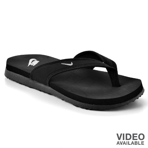 Womens NIKE Celso South Beach Thong Flip Flop Sandals BLA...