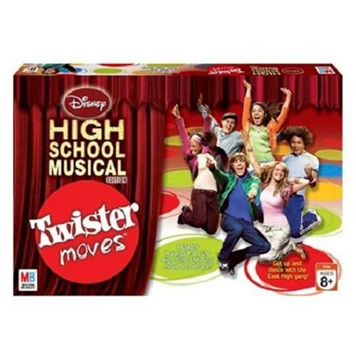 Disney High Sch Musicl Twstr Moves, Game puts a High School Musical-themed spin on classic game of Twister By... by Milton Bradley