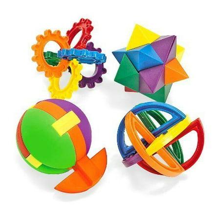 Plastic Puzzle Balls (1 dz) Model: IN-12-1801 (1 Dz Balls)