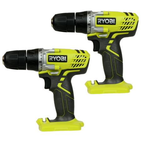 "- Ryobi Tools HJP003 12V Lithium-Ion 3/8"" Cordless Drill Driver (2-Pack)"