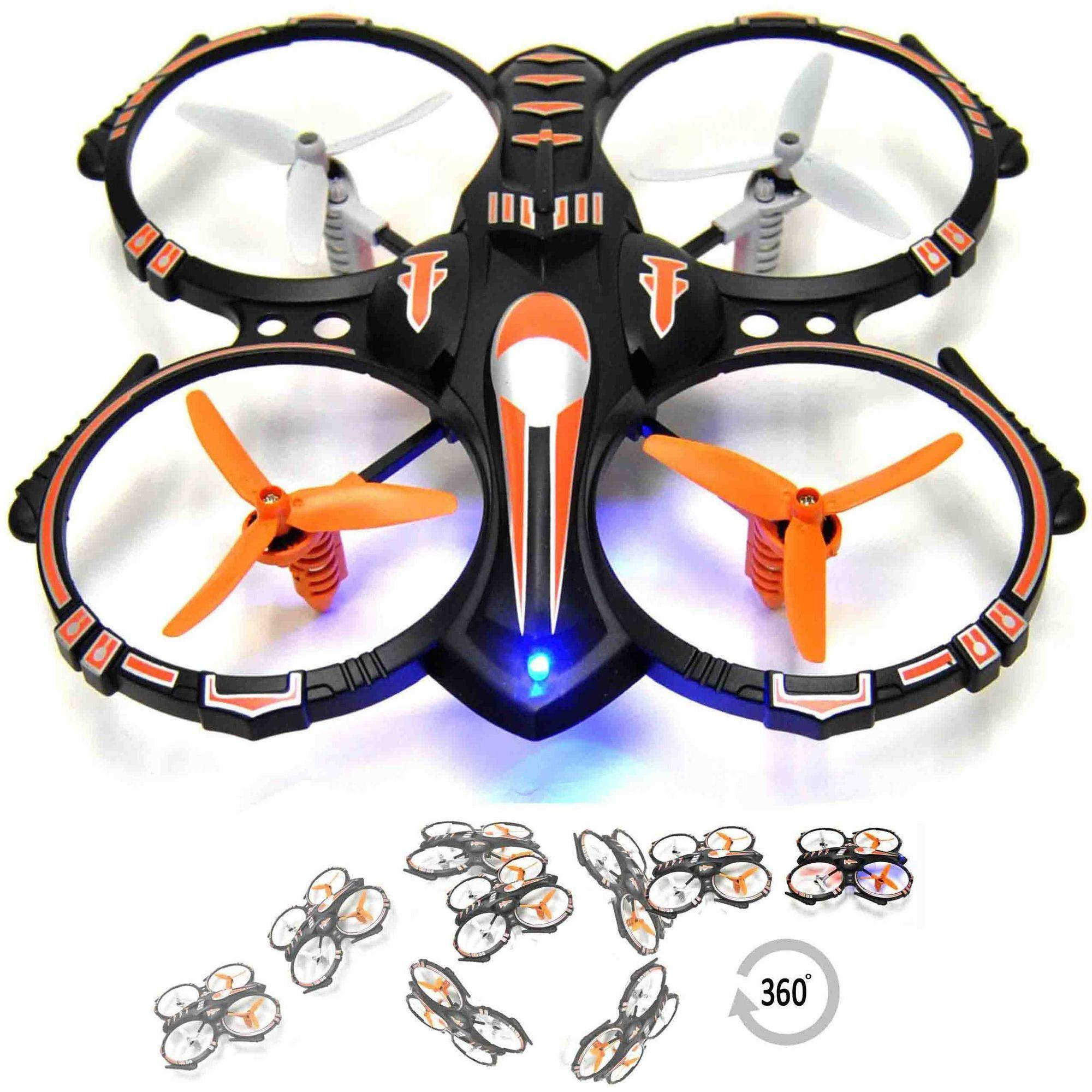 RC 4-Channel 2.4GHz Stunt Drone Quadcopter with 360 Flip