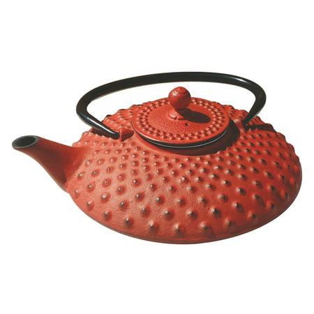 Old Dutch Amity Red 26 oz. Cast Iron Teapot