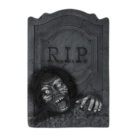 Pack of 6 Haunted Halloween 3-D Zombie