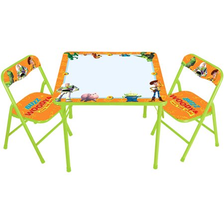 Disney - Toy Story Erasable Activity Table and Chair Set - Walmart.com
