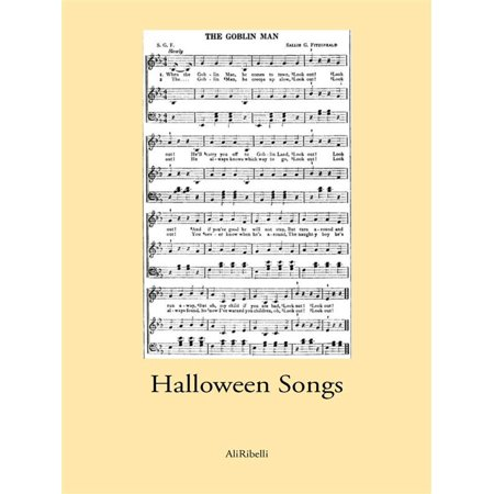 Halloween Songs For Kindergarten (Halloween Songs - eBook)