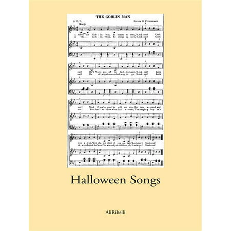 Halloween Songs - eBook - Preschool Halloween Party Songs