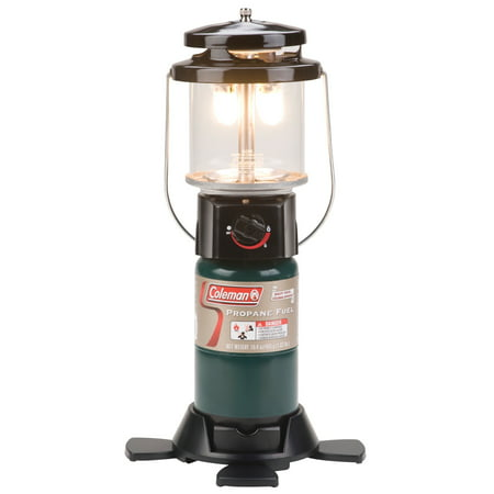 Coleman Deluxe Perfect Flow Propane Gas Lantern for Outdoor