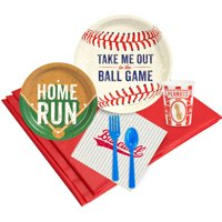 Baseball Time 16-Guest Party Pack