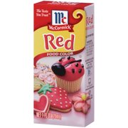 McCormick® Red Food Color, 1 fl oz - Walmart.com