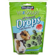 Vitakraft VitaSmart No Sugar Added Drops with Parsley for Guinea Pigs Multi-Colored