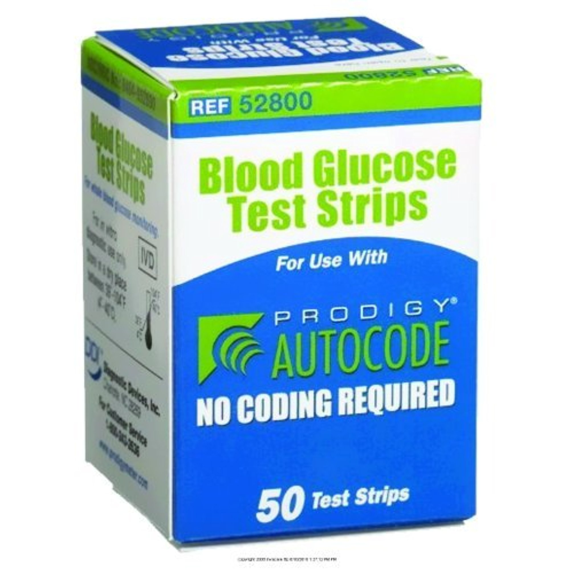 Prodigy Autocode Test Strips [PRODIGY ALL IN ONE STRIPS] (BX-50)