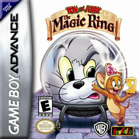 Tom and Jerry: The Magic Ring - Nintendo Gameboy Advance GBA (Gameboy Advance Sp Play Gameboy Color Games)