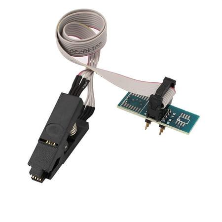 - Soic8 Sop8 Flash Chip Ic Test Clips Socket Adpter Bios/24/25/93 Programmer