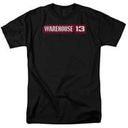 Warehouse 13 Logo Mens Short Sleeve Shirt