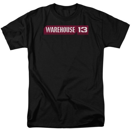 Warehouse 13 Logo   S S Adult 18 1   Black   2X