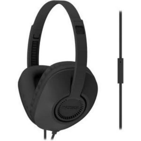 Koss Ur23i Headset - Stereo - Black - Mini-phone - Wired - 34 Ohm - 20 Hz - 20 Khz - Over-the-head - Binaural - Circumaural - 3.94 Ft Cable (189270) Behind Neck Binaural Pc