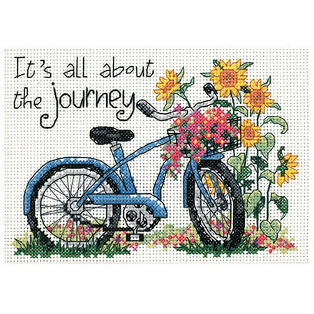 "Dimensions ""The Journey"" Mini Counted Cross Stitch Kit, 7"" x 5"""