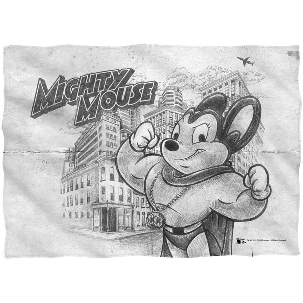 Mighty Mouse Pillowcase