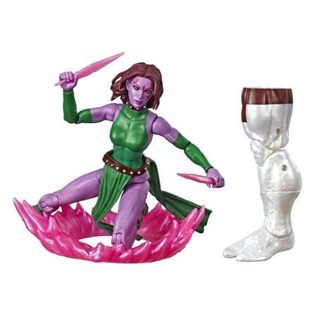 Hasbro Marvel Legends Series 6u0022 Collectible Action Figure Marvel's Blink Toy (X-Men Collection) - with Marvel's Caliban Build-a-Figure Part
